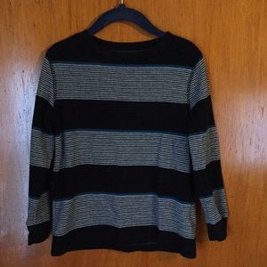 Old Navy Long-Sleeved Striped Shirt - Size: XS (5)